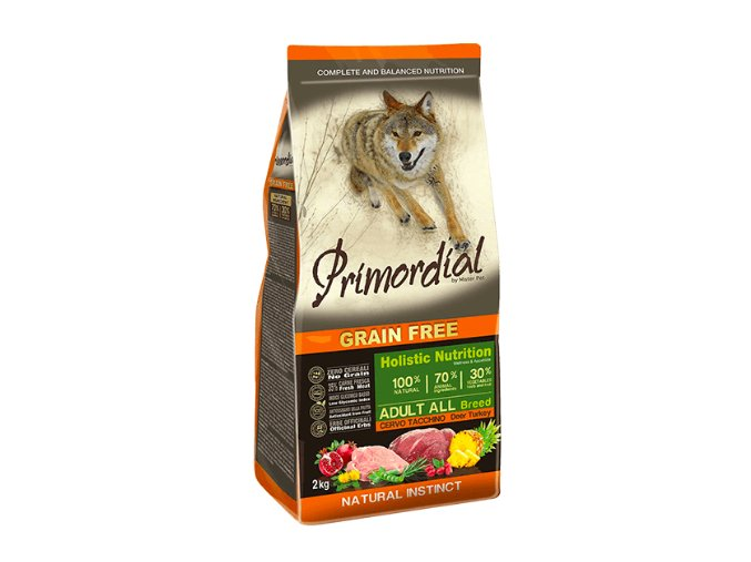 Primordial Grain Free Adult Deer and Turkey 12 kg