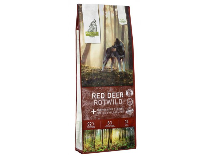 ISEGRIM Adult Forest Jelen s lesními plody 12 kg na aaagranule.cz