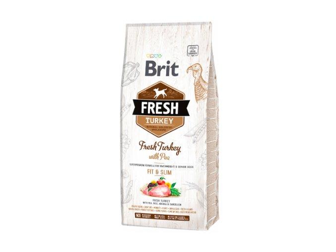 BRIT Fresh Turkey with Pea Light Fit & Slim 12kg na aaagranule.cz