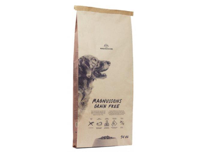 Magnusson Meat&Biscuit GRAIN FREE 14kg na aaagranule.cz