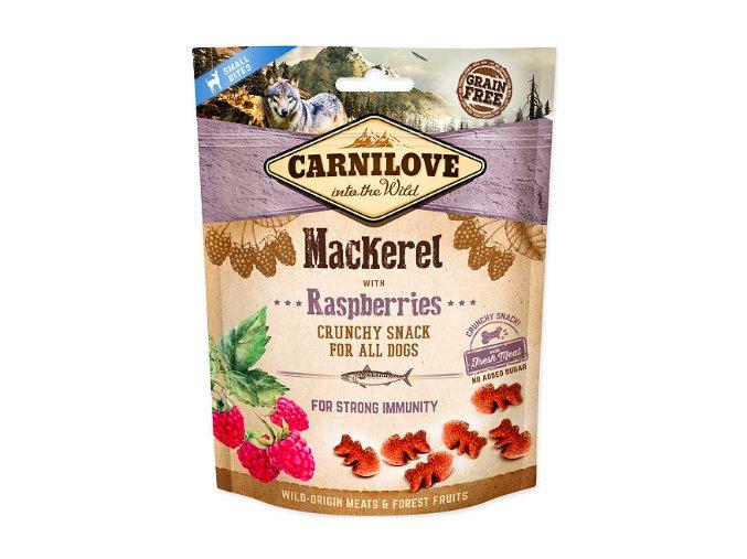Carnilove Crunchy Mackerel with Raspberries 200g na aaagranule.cz
