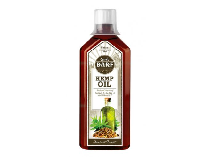 Canvit BARF Hemp Oil 500 ml na aaagranule.cz