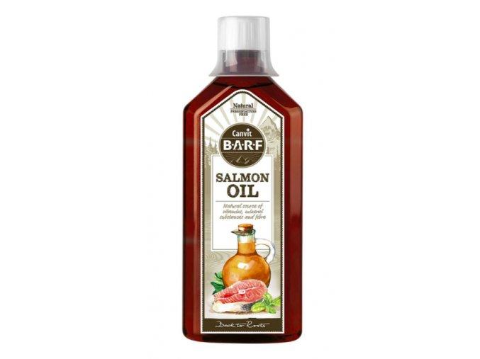 Canvit BARF Salmon Oil 500 ml na aaagranule.cz