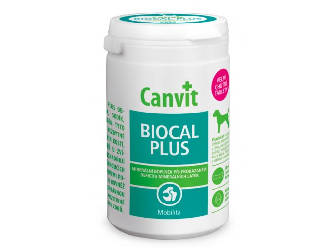 Canvit Biocal Plus 500g na aaagranule.cz