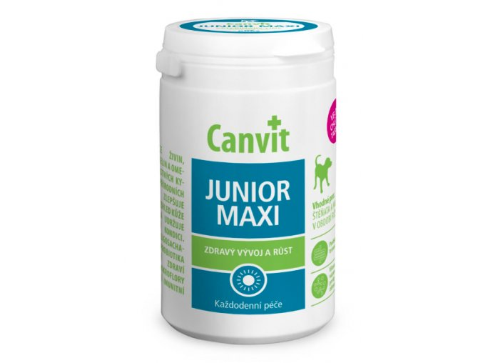 Canvit Junior Maxi 230 g na aaagranule.cz