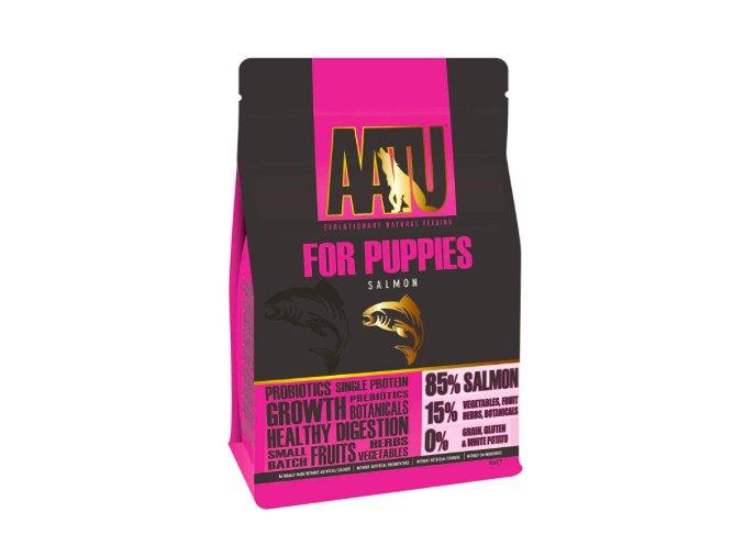 AATU Dog 85:15 Puppy Salmon 5kg na aaagranule.cz