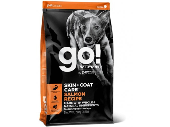 GO! Skin and Coat Salmon Dog Food 11,4kg na aaagranule