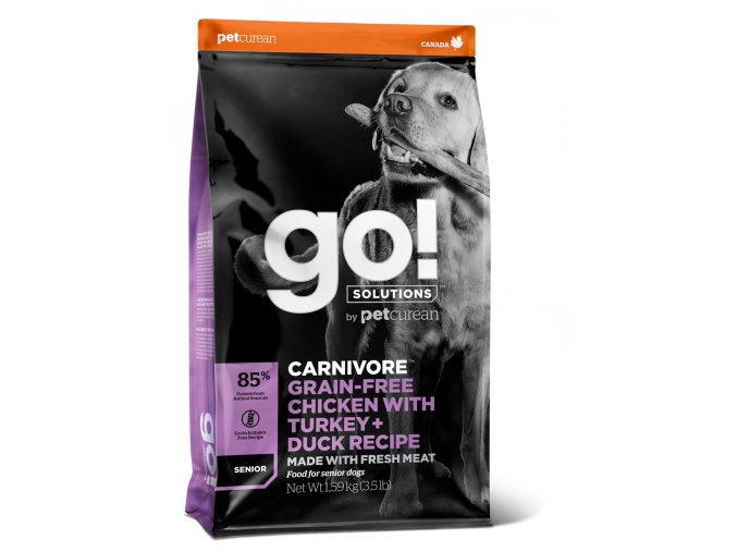 GO! Carnivore GrainFree Senior Dog Food 10kg na aaagranule