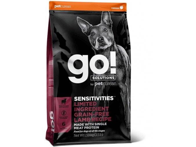 GO! Sensitivities LID Lamb Dog Food 10kg na aaagranule