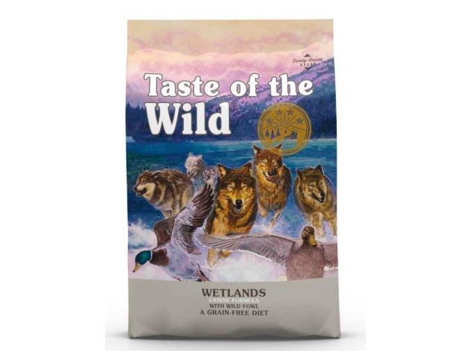 TASTE OF THE WILD WETLANDS WILD FOWL 5,6 KG na aaagranule