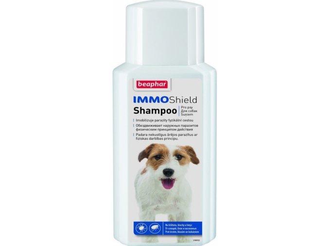 Beaphar Šampon Dog Immo Shield antiparazitární 200ml na aaagranule