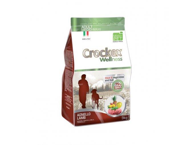 Crockex Adult Lamb and Rice 12 kg na aaagranule
