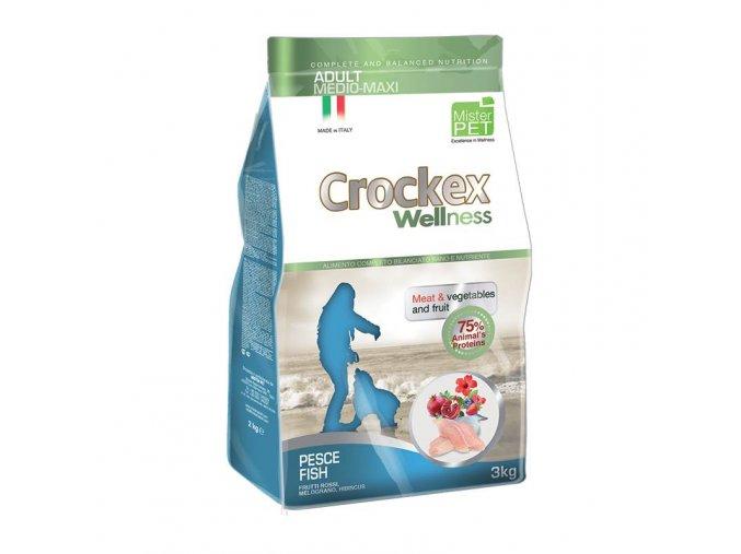 Crockex Adult Fish and Rice 12 kg na aaagranule