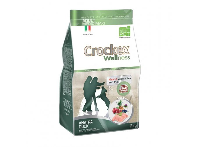Crockex Adult Duck and Rice 12 kg na aaagranule