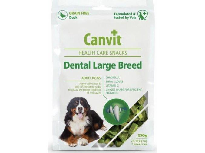 Canvit Snacks Dental Large Breed Duck 250g na aaagranule