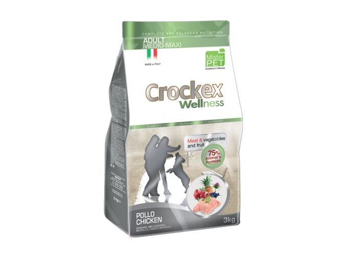Crockex Adult MINI Chicken 7,5kg na aaagranule