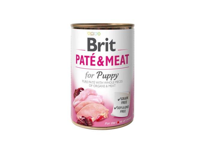 Brit Dog konz Paté & Meat Puppy 400g na aaagranule