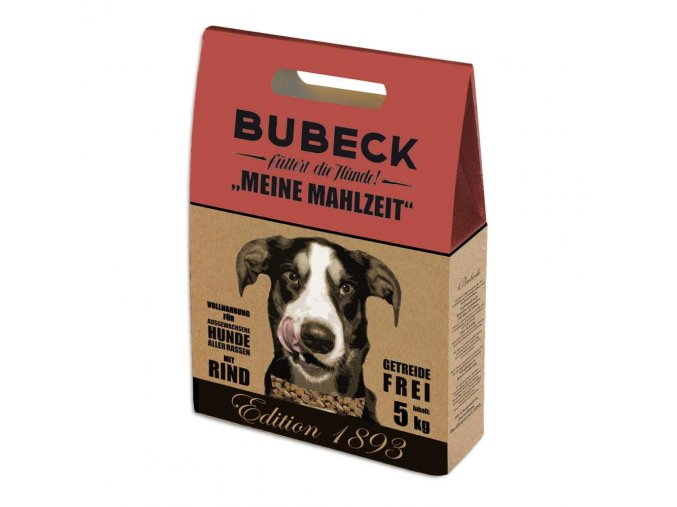 BUBECK Edition 1893 Meine Mahlzeit Rind 12 kg na aaagranule