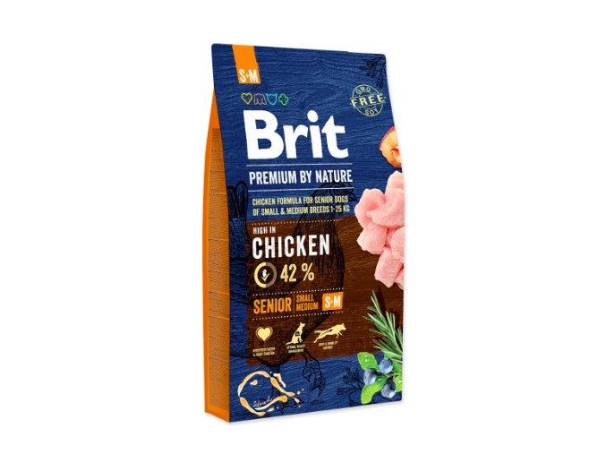 Brit Premium by Nature Senior S+M 8 kg na aaagranule.cz