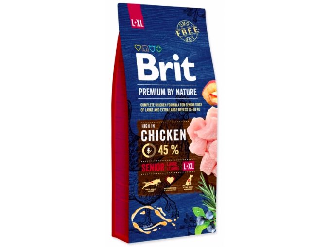 Brit Premium by Nature Senior L+XL 15 kg na aaagranule.cz