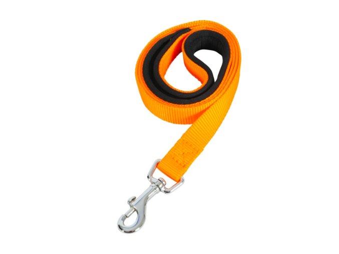 Vodítko pes SOFT NYLON oranžové 20mm:1m Zolux na aaagranule