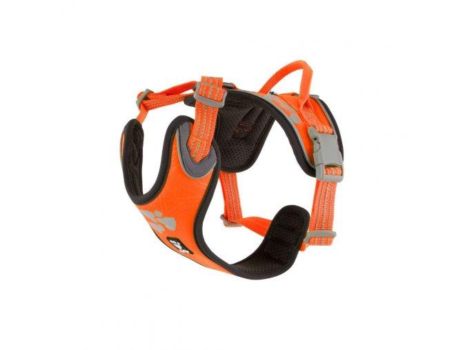 Postroj Weekend Warrior oranžový neon na aaagranule