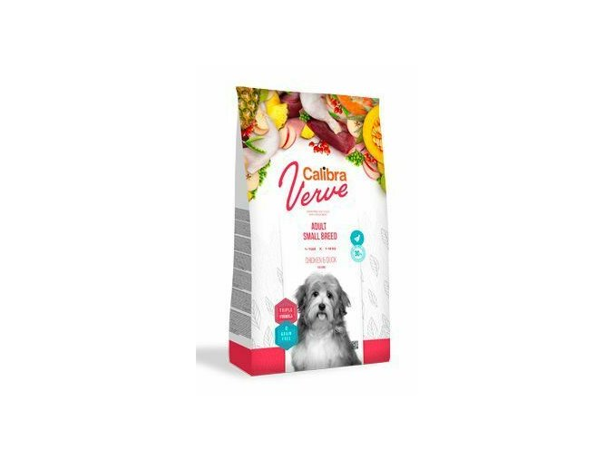 Calibra Dog Verve GF Adult Small Chicken&Duck 6kg na aaagranule