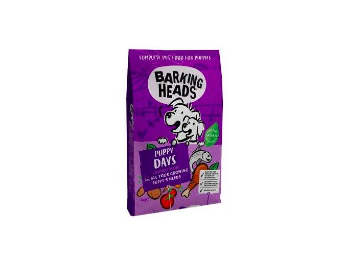 BARKING HEADS Puppy Days NEW 6kg na aaagranule