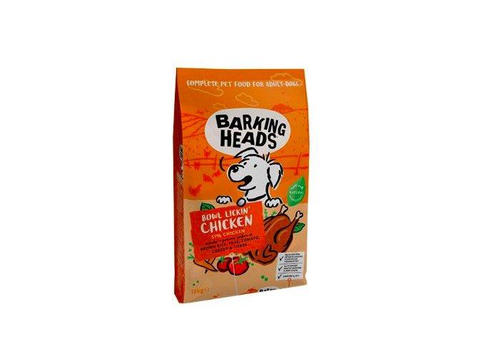 BARKING HEADS Bowl Lickin' Chicken 12kg na aaagranule
