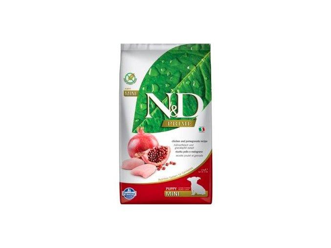N&D PRIME DOG Puppy Mini Chicken & Pomegranate 2,5kg na aaagranule
