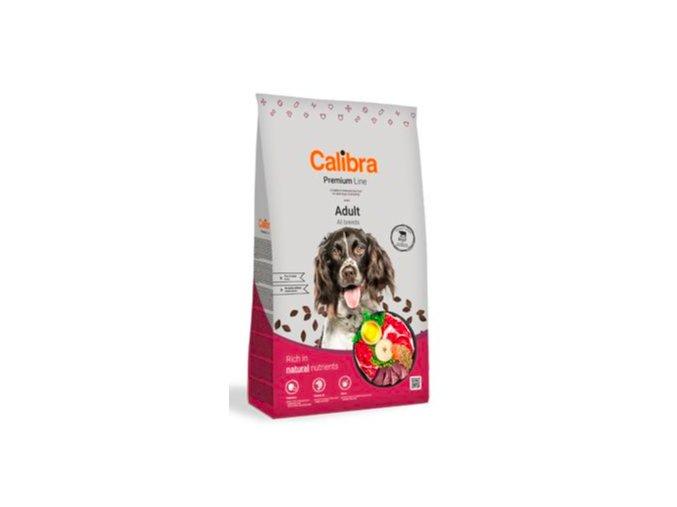 Calibra Dog Premium Line Adult Beef 12 kg NEW na aaagranule