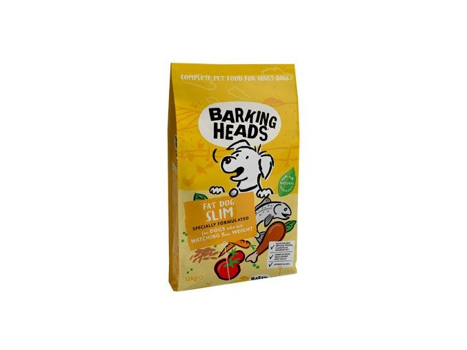 BARKING HEADS Fat Dog Slim NEW 12kg na aaagranule