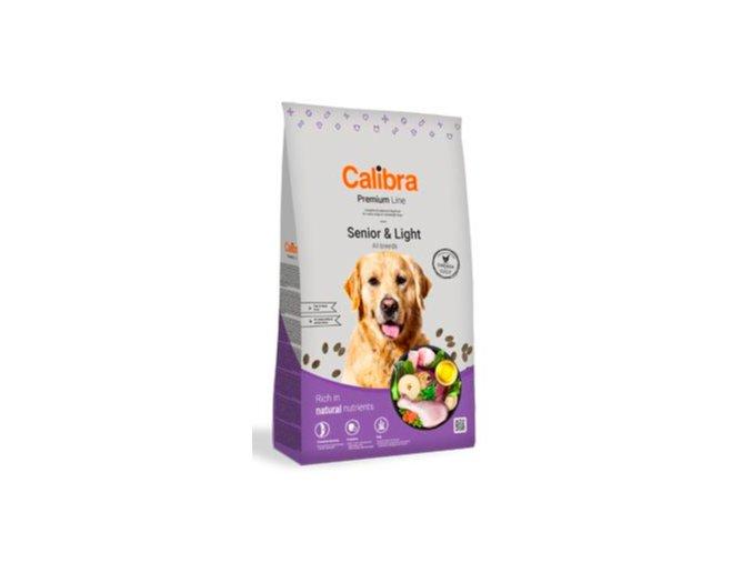 Calibra Dog Premium Line Senior&Light 12 kg NEW na aaagranule