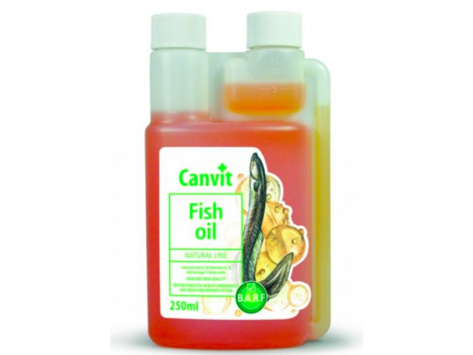 Canvit Fish oil 250ml na aaagranule