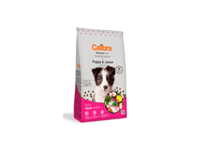 Calibra Dog Premium Line Puppy&Junior 12 kg NEW na aaagranule