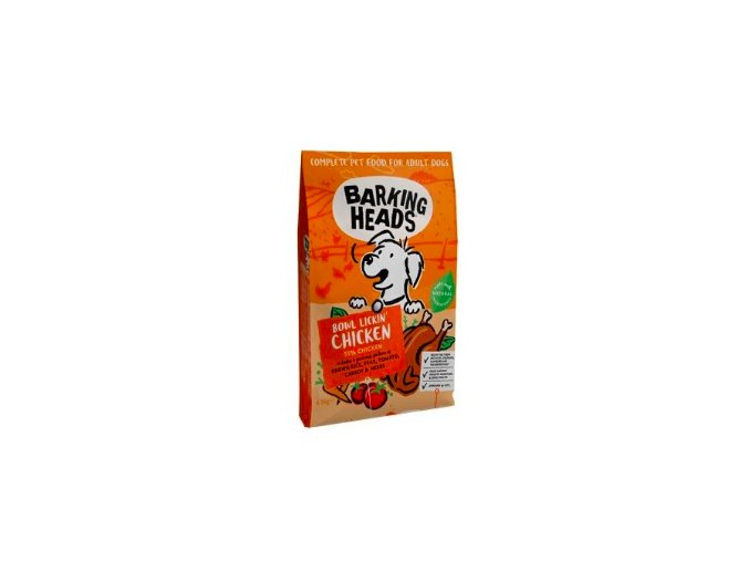 BARKING HEADS Bowl Lickin' Chicken 6,5kg na aaagranule