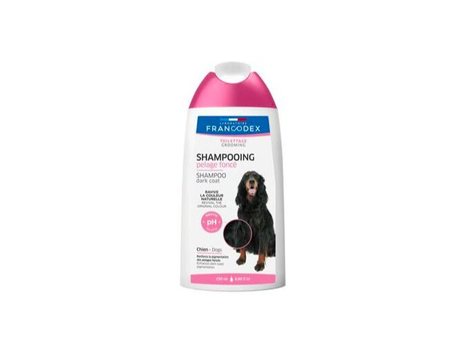 Francodex Šampon černá srst pes 250ml na aaagranule