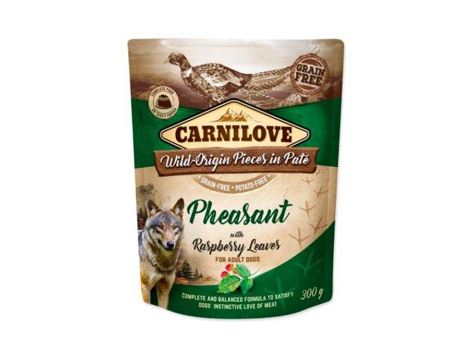 Carnilove Dog Pouch Paté Pheasant & Raspberry 300g aaagranule