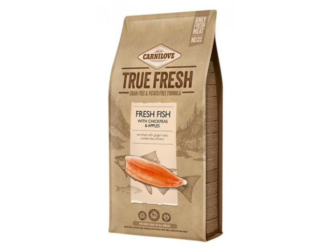 Carnilove TRUE FRESH FISH for Adult dogs 11,4 kg na aaagranule