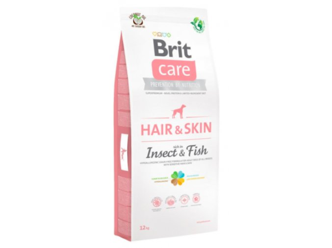 Brit Care Dog Hair&Skin Insect&Fish 12 kg na aaagranule