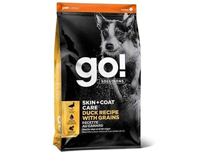 GO! Skin&Coat Duck Dog Food 11,33kg na aaagranule