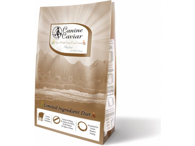 Canine Caviar Range GF Alkaline (buvol) 10kg na aaagranule