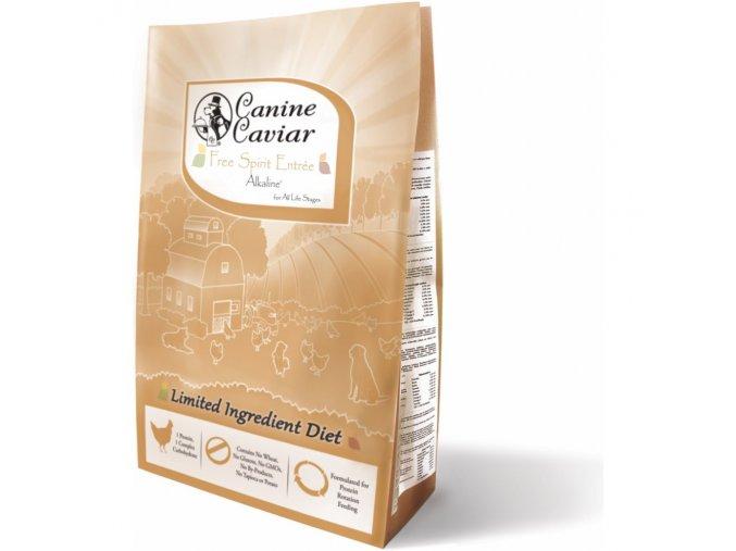 Canine Caviar Free Spirit Alkaline (kuře) 10kg na aaagranule