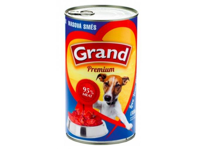 GRAND konz. pes masová směs 1300g na aaagranule