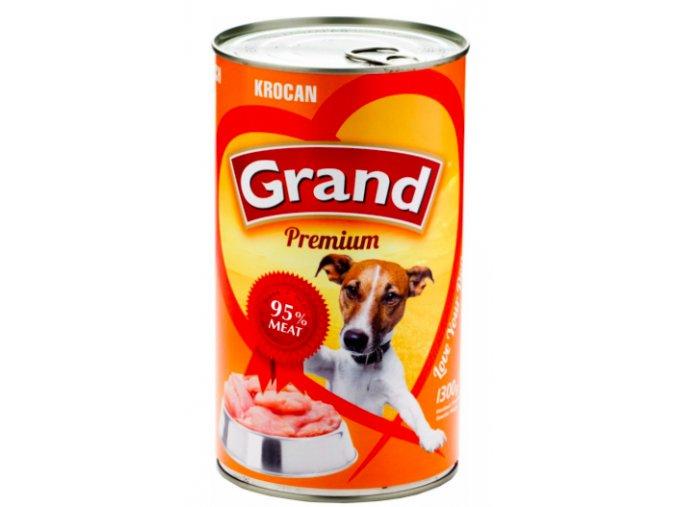 GRAND konz. pes krocaní 1300g na aaagranule