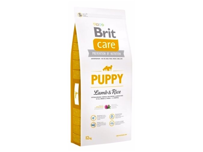 Brit Care Puppy Lamb & Rice 12 kg na aaagranule.cz