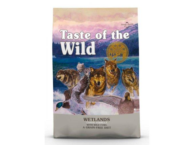 TASTE OF THE WILD WETLANDS WILD FOWL 12,2 KG na aaagranule