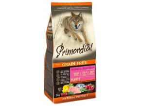 Primordial Grain Free Puppy Chicken and Sea Fish 12 kg