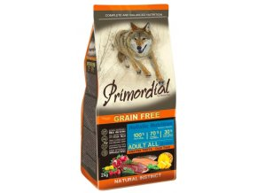 Primordial Grain Free Adult Trout & Duck 12 kg