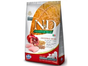 N&D LOW GRAIN DOG PUPPY CHICKEN&POMEGRANATE 12 KG na aaagranule.cz